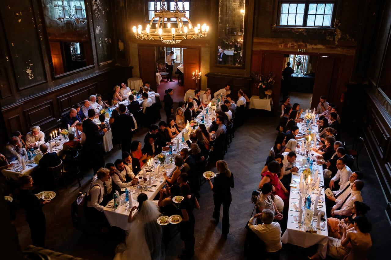 Hochzeit im Spiegelsaal vom Clärchens Ballhaus Berlin