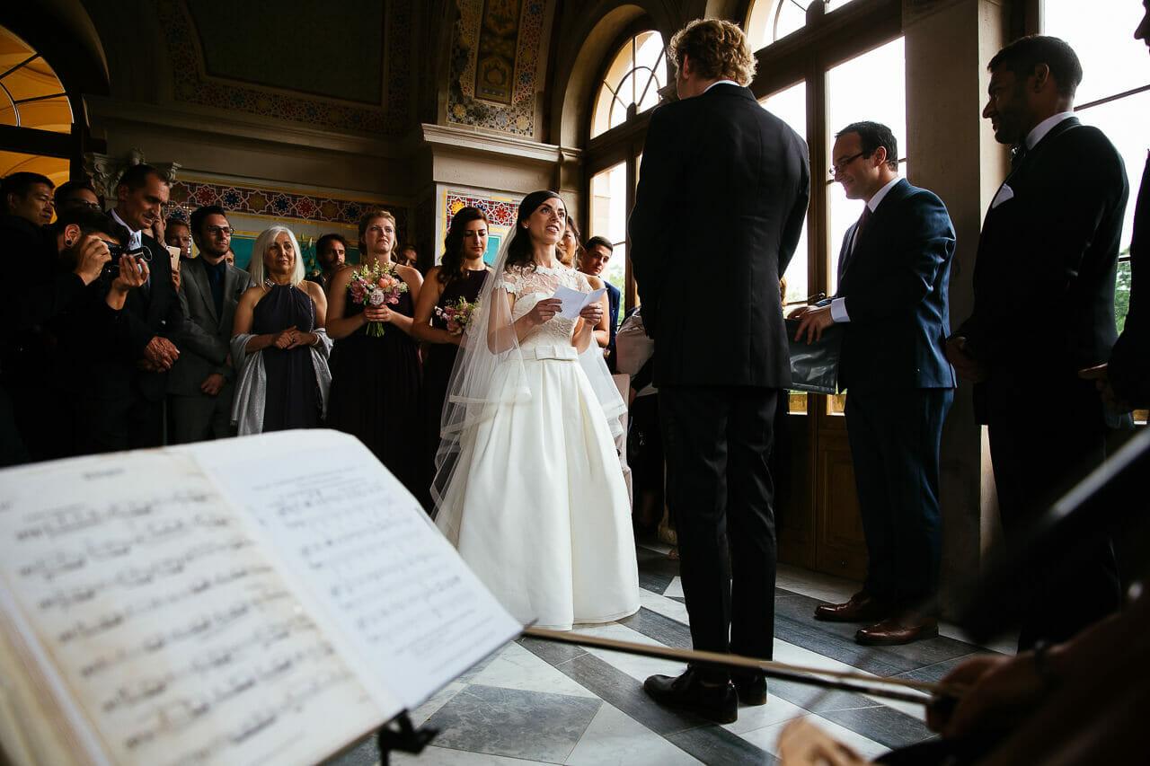 Hochzeit im Maurischen Kabinett vom Schloss Belvedere in Potsdam