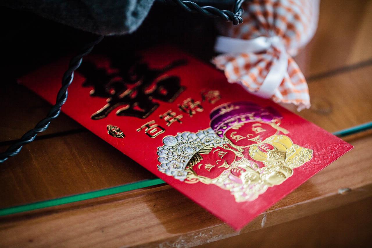 Hong Bao Roter Umschlag