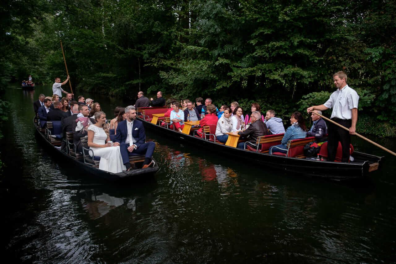 Heiraten im Spreewald